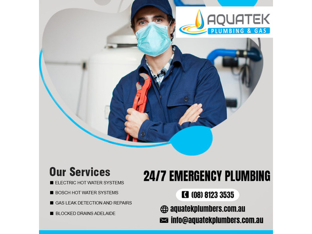 Gas heater repairs Adelaide | AQUATEK PLUMBING & GAS - 1