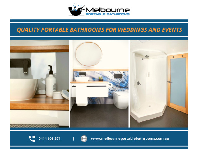 High Quality Portable Bathrooms for Weddings and Events! - 1