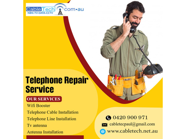 Telephone Repair Service –Count on the Experts to Get the Best Service - 1