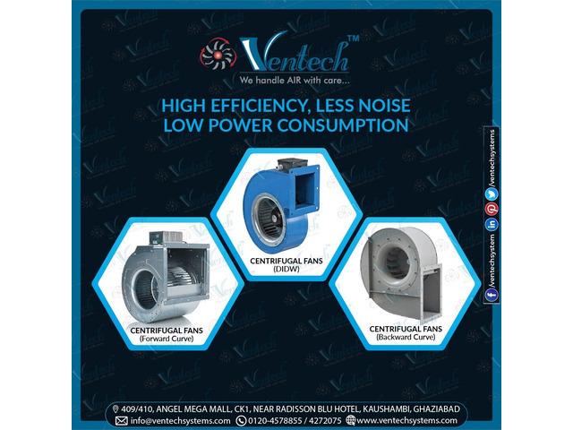 High Efficiency, Less Noise Low Power Consumption - 1