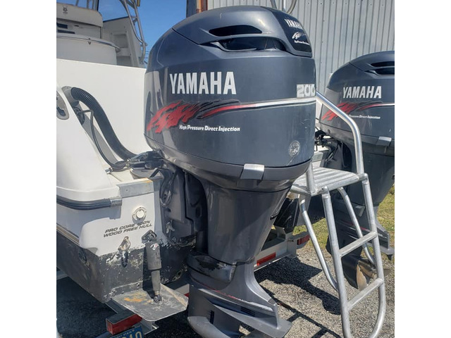Yamahas Outboard Engine 200hp - 1