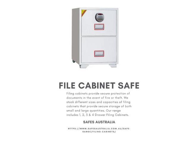 File Cabinet Safe - Safes Australia - 1