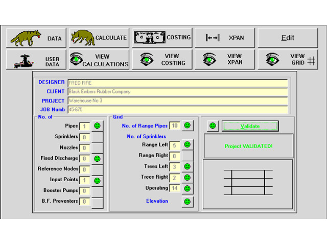 Fire Hydraulic Calculation Software - 1