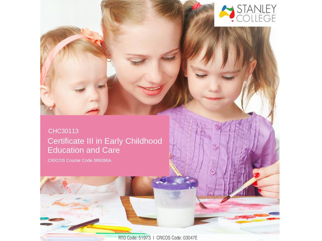Support behavior of children with early childhood education and care certificate iii - 1