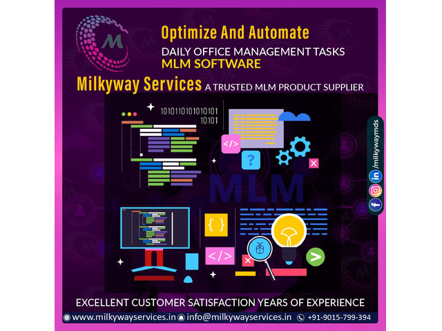 MLM Software Services Company In Delhi NCR - 1
