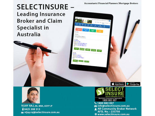 SELECTINSURE – Leading Insurance Broker and Claim Specialist in Australia - 1