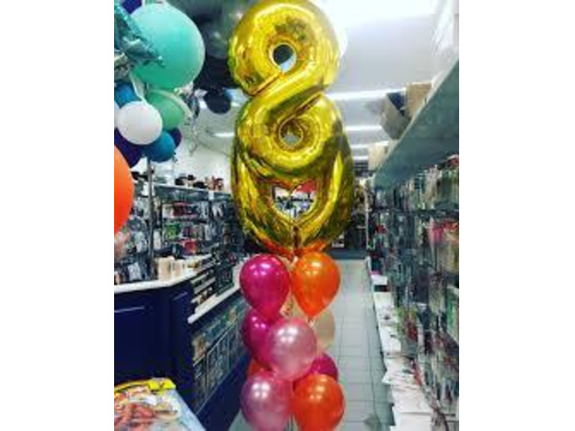 Christmas Decorations With Balloons - 1