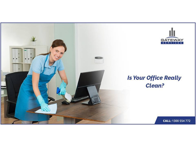 Fall in Love with Our Office Cleaning Services - 1