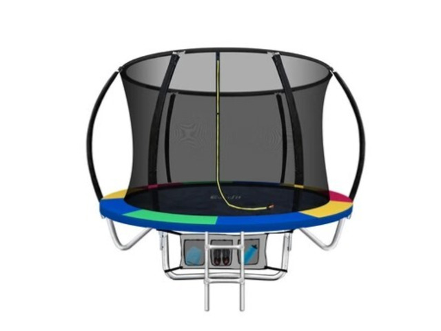 Shop Jump Star 8 Foot Trampoline And Get 38% Discount With KidsPlaysets.com - 1