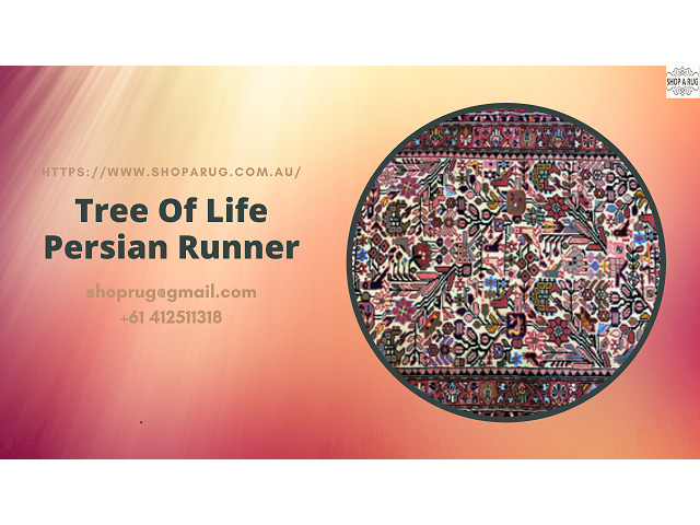 Tree Of Life Persian Runner - 1