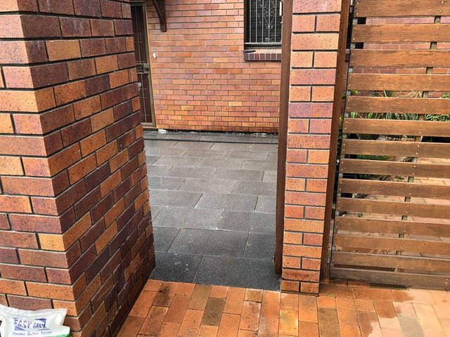 Courtyard paving. - Rogers Little Loaders - 5