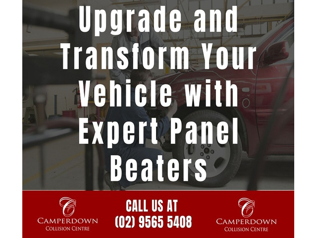 Upgrade and Transform Your Vehicle with Expert Panel Beaters - 1