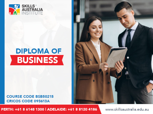 Get trained to manage budgets and projects with our business diploma courses at Adelaide - 1