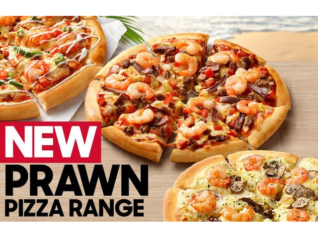 Prawn Pizza On Sale Pizza Hut Orange - Orange, NSW - 1