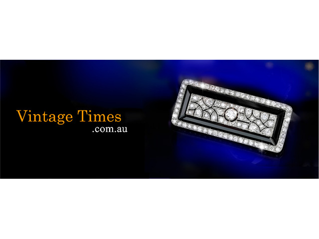 Gold Diamond Rings - Vintage Times - 1