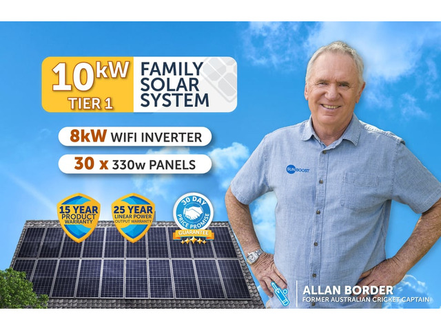 Buy 10KW Solar Panels System from Leading Solar Company | Sunboost® - 1