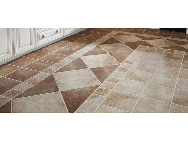 Commercial Tile Grout Cleaning - 1