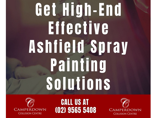 Get High End Effective Ashfield Spray Painting Solutions - 1