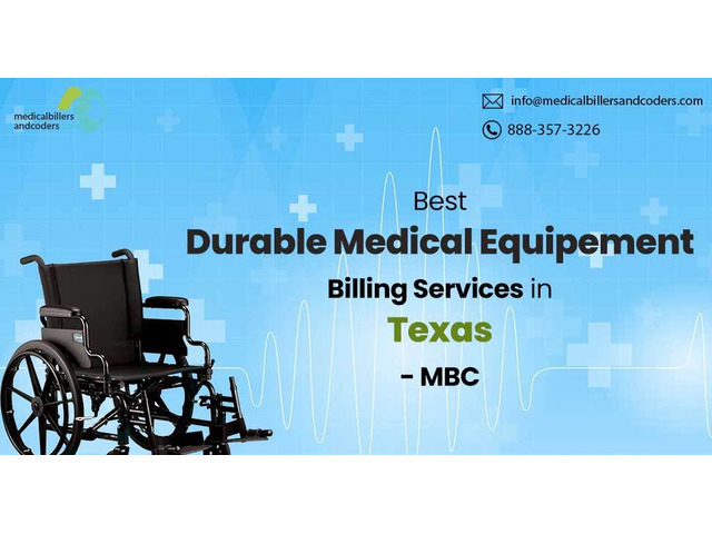 Best DME Billing Services in Texas - MBC - 1