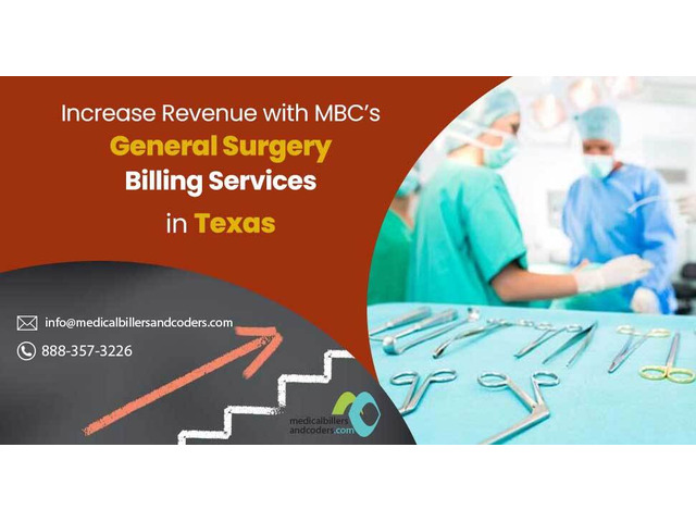 Increase Revenue with MBC's General Surgery Billing Services in Texas - 1