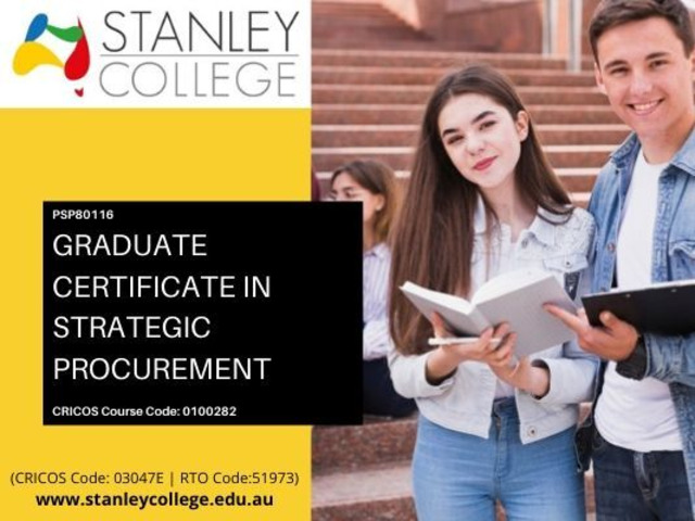 Enrol now for best graduate certificate in strategic procurement courses in Australia. - 1
