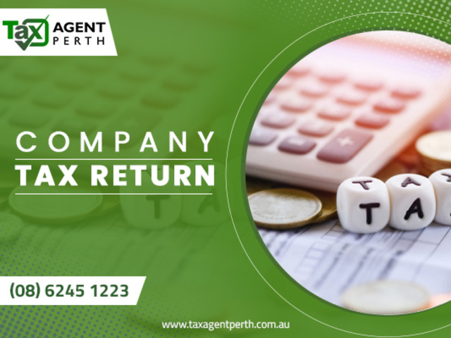 Lodge Company Tax Return With Tax Agent Perth - 1