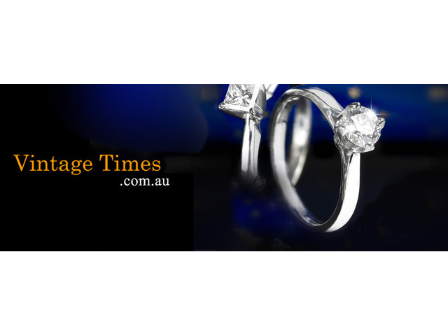 Beautiful Sapphire Engagement Rings - Vintage Times - 1