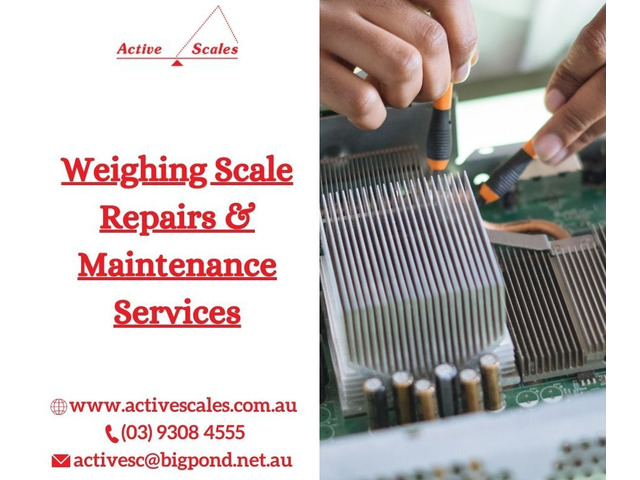 Affordable Weighing Scale Repairs & Maintenance Services in Melbourne - 1