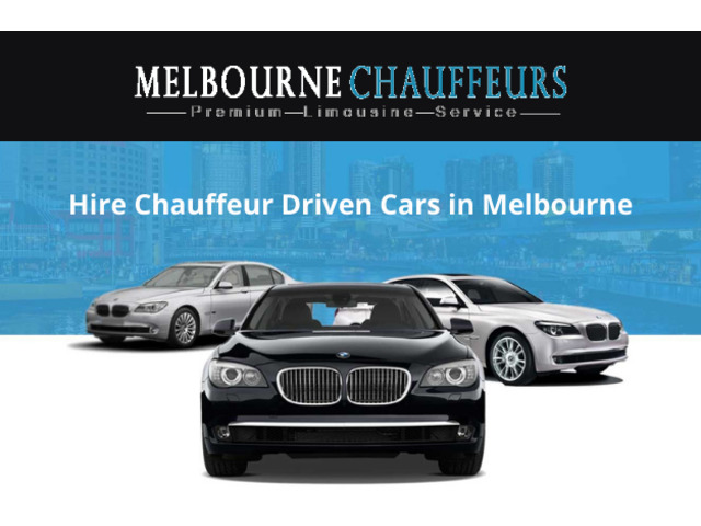Hire Chauffeur Driven Cars in Melbourne - 1