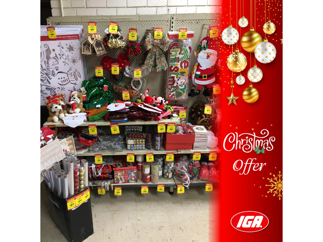 Christmas Accessories - Christmas Offer - IGA Ravenswood - 1