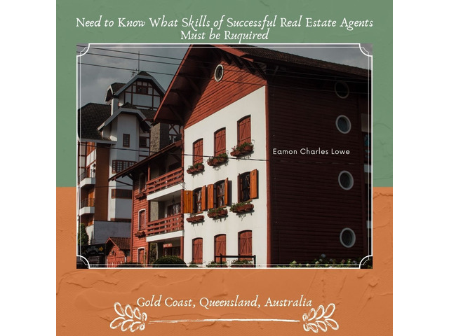 Eamon Charles Lowe - Abilities of Successful Realtor Needs - 1