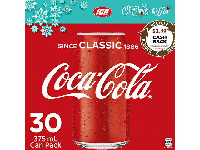 Coca-Cola - Christmas Offer - IGA Ravenswood - 1