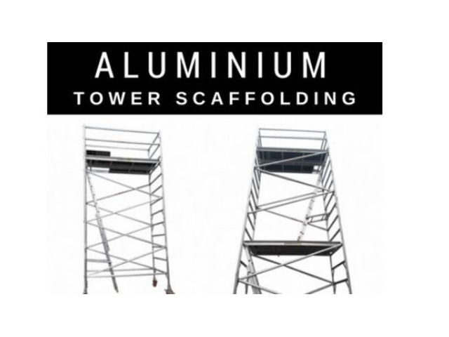 Wide and Narrow Aluminium Mobile Towers for Sale - 1