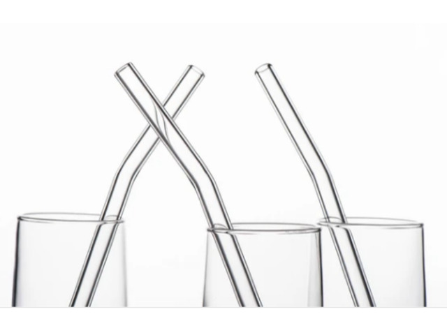 Reusable Eco-Friendly Glass Drinking Straws - 1