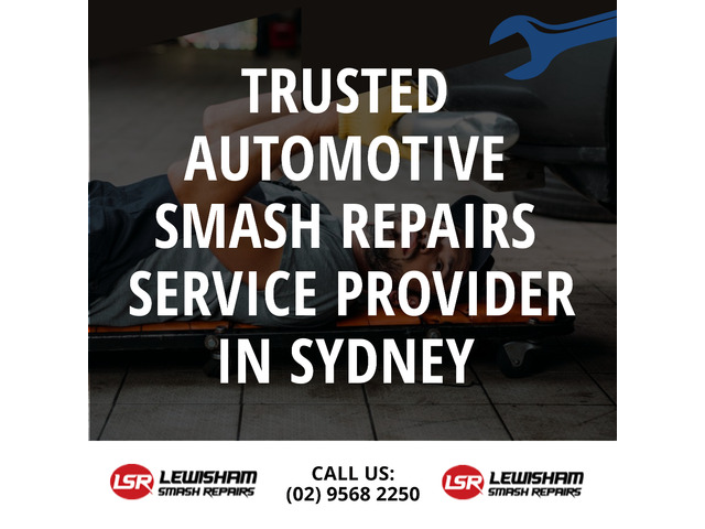 Trusted Automotive Smash Repairs Service Provider in Sydney - 1