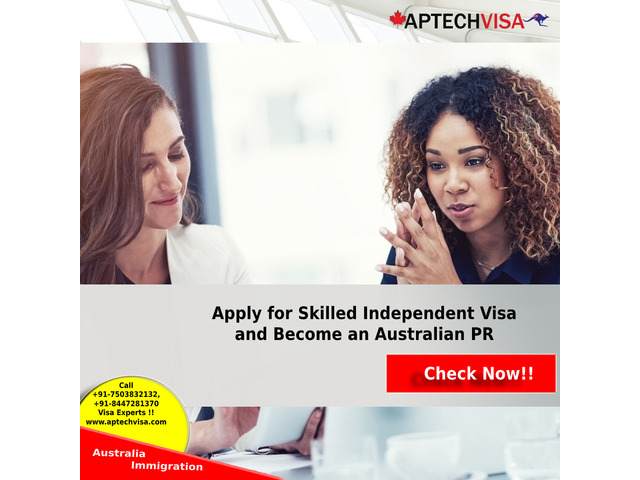 Apply for Skilled Independent Visa and Become an Australian PR - 1