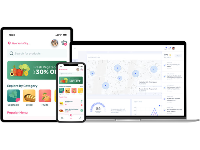 Grocery Delivery App Development Company | Arka Softwares - 1