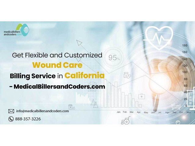 Get Flexible and Customized Wound Care Billing service in California - 1