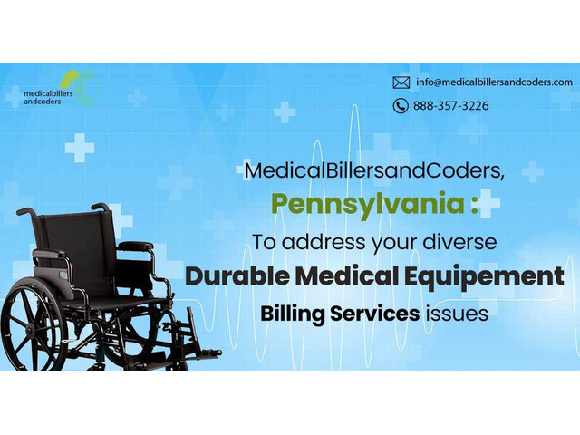 To address your diverse Durable Medical Equipment Billing Services - 1
