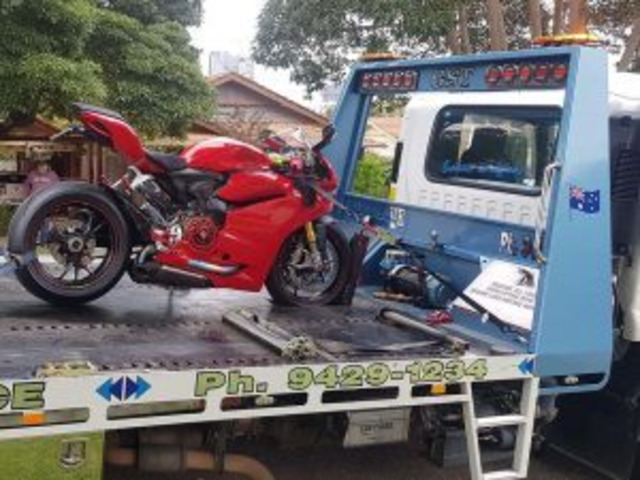 Get Professional Motorcycle Towing Transportation in Melbourne - 2