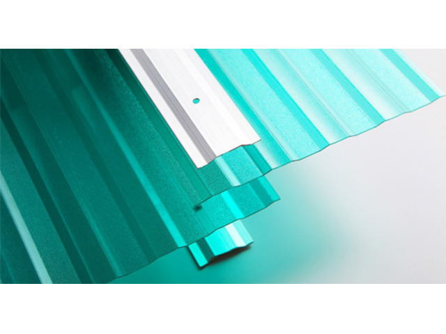 Polycarbonate Corrugated Roofing Sheet - 1