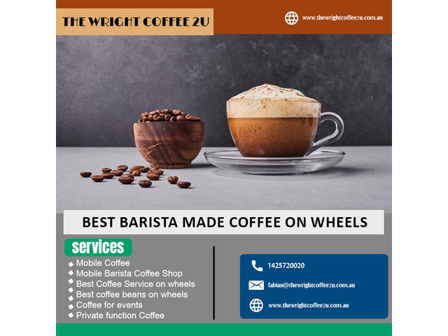 Enjoy the Best Barista made Coffee on Wheels - 1