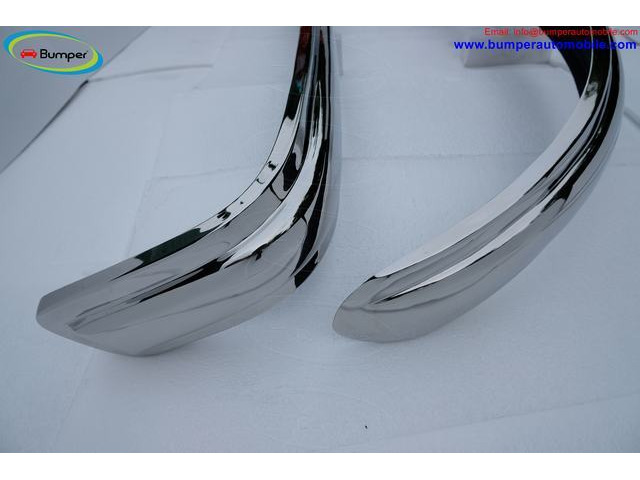 VW Bus T1 Split Screen (1950-1957) polished stainless steel bumpers - 2
