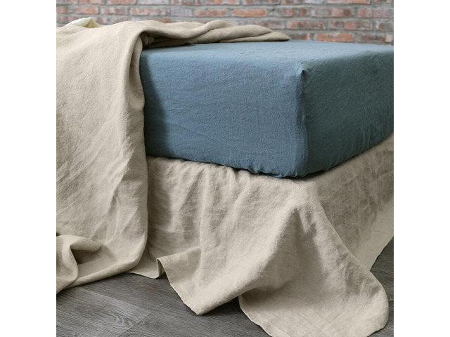 Shop Linen Fitted Sheets Online From Linenshed.com.au - 1