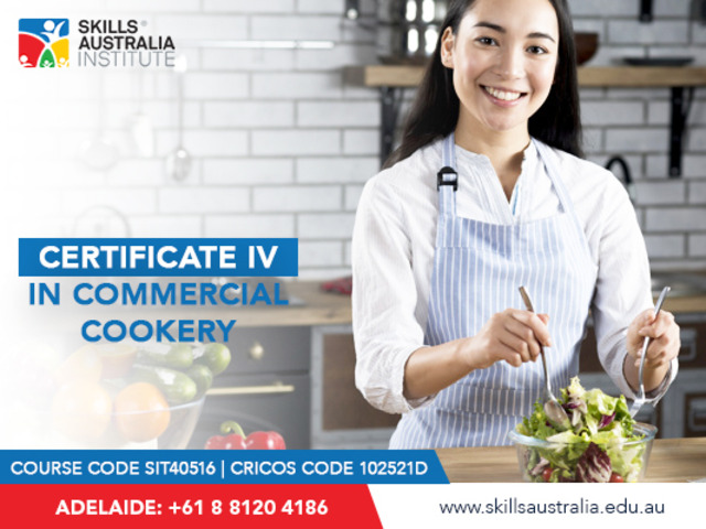Become a professional chef by doing our certificate iv in commercial cookery - 1