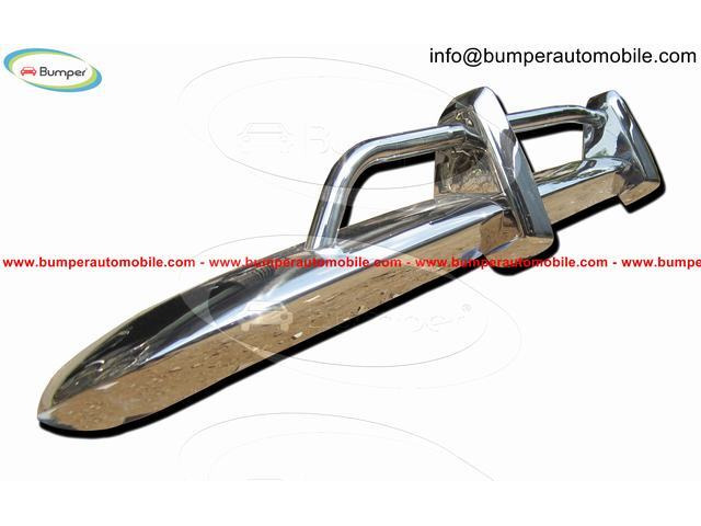 Original Volkswagen Karmann Ghia US type bumper (1970 – 1971) by stainless steel - 1