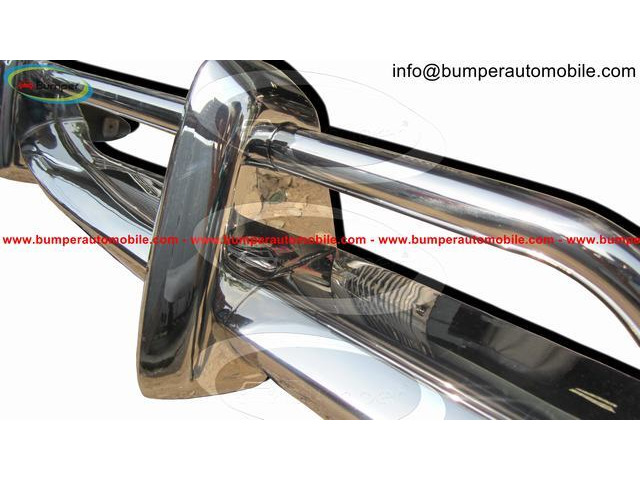 Original Volkswagen Karmann Ghia US type bumper (1970 – 1971) by stainless steel - 2
