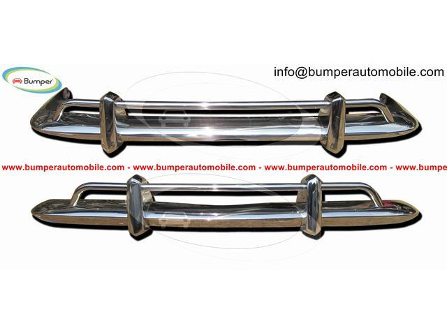 Original Volkswagen Karmann Ghia US type bumper (1970 – 1971) by stainless steel - 6