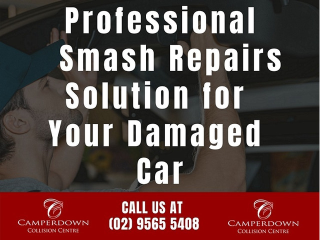 Professional Smash Repairs Solution for Your Damaged Car - 1