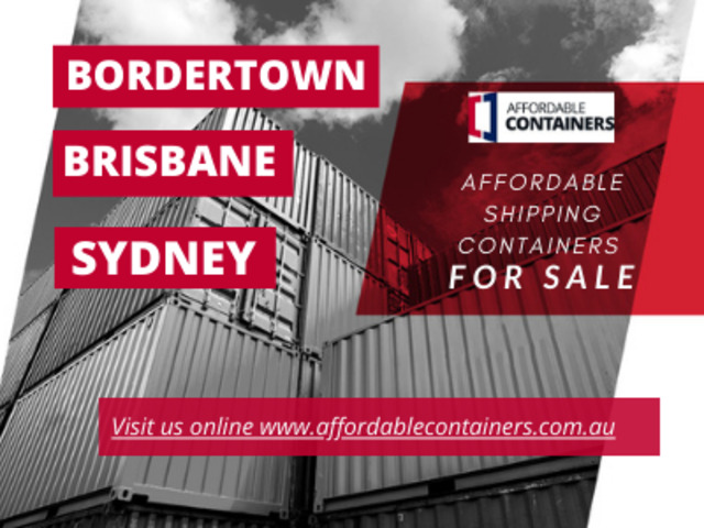 Buy shipping containers in Bordertown South Australia - 1